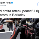 Hmm… Corporate Media Now Turning On Antifa As Police Militarization Increases