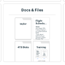 New in Basecamp: Improved Schedule Cards