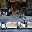 Protesters Steal NYC Sanitation Trucks, Use Them To Block Trump Tower