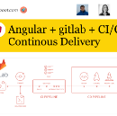 Angular Continuous Delivery / Deployment with gitlab-ci, stage on commit and prod on git-tag