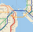 Bay Area 2050: the BART Metro Map