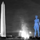 A woman may finally get a monumental tribute on the National Mall, and she's naked?