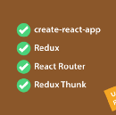Getting started with create-react-app, Redux, React Router & Redux Thunk