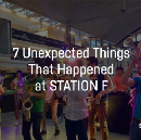 7 Unexpected Things that happened at STATION F