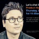 "Biz Stone: ""I'd like to chat about achieving an AIDS free generation"""