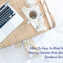 What To Keep In Mind When You Start Sharing Content from Your Food Blog On Facebook Groups