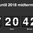It's all about the 2018 mid-terms