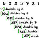 Project Euler # 43 in JavaScript — Sub-String Divisiblity in Pandigital Numbers.