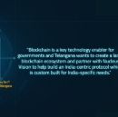 Introducing the International Blockchain Congress in collaboration with the Indian State Government…