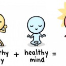 Healthy Body+ Healthy Mind= Happy Life