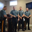 Palmyra police honored at council meeting for going 'over and above' the call of duty