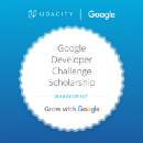 Accepted — Google Developer Challenge Scholarship for Udacity
