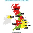 Where do the happiest banking customers live?