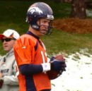 """Peyton Manning: """"Broncos threatened me with bats until I left the practice field"""""""