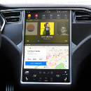 A Redesign of Tesla's Dashboard UI