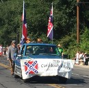 That time (last weekend) I saw a confederate flag in the parade lineup