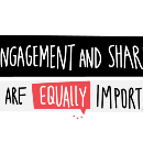 Why Engagement and Sharing are equally important
