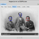 Playing with face detection in Pharo