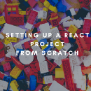 Setting up a React project from scratch