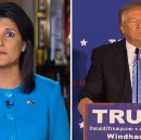 "Trump Ominously Threatens Nikki Haley ""Could Disappear Anytime Just Like Kellyanne Conway""."
