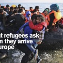 What Refugees Ask When They Reach Europe