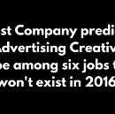 Innovation won't save the creative department.