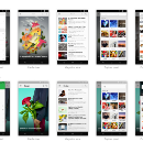 An exploration in Material Design by feedly