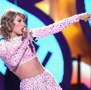 Taylor Swift's Giant Middle Finger