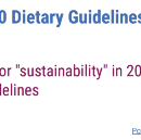 "Will the ""real"" Dietary Guidelines please stand up?"