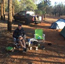 Camping and Climbing in the Outback