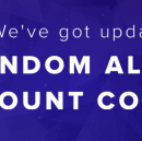 We've got updates - Random Alerts and Count commands