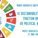 Is sustainability gaining traction on the EU agenda?