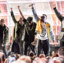 """Black Muslims Disrupt the Grammys, Dedicate Song to President """"Agent Orange"""""""