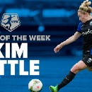 Kim Little + Hat trick = Player of the Week
