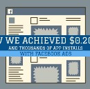 How We Achieved $0.20 CPI with Facebook Ads