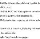The DOJ illegally obtained the identities of donors to a legal defense fund I started 5 years ago.