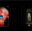 Dark Mode on iPhone 8: the iPhone without borders