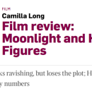 Whiteness fears black creativity. Camilla Long's 'Moonlight' review exposes that.