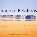 A Mirage of Relationships