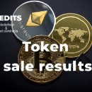 Token sale results