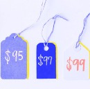 Using 5s, 7s, and 9s in product pricing is a psychological tactic and we're not going to do it…