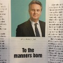 I was born into the wrong century: I think manners matter.