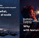 Qual & Quant Research working together