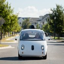 On the road with self-driving car user number one