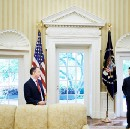 Alternate Theory of Priebus / Scaramucci Oval Office Death Stare Photo