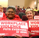 CNA/NNU Nurses Celebrate the Strongest Workplace Violence Prevention Regulations in the Country