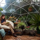 'Garden Igloos' Let You Hang Outside Year-Round