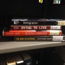 """""""Immigration"""" (Book Spine Poetry)"""