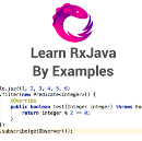 Migrating from RxJava 1.0 to RxJava 2.0 and Learn RxJava by Examples
