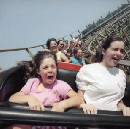 The thrill and terror of vintage roller coasters, in pictures